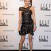 Olga Kurylenko az est egyik győztes tervezőjétől, Isabel Marant-tól választott ruhát.