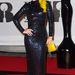 Lily Allen vintage Norrell márkájú ruhában.