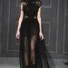 A bohókás szett helyett a Bazaar Vera Wang 2014-15-ös ősz-téli ruhájában látná Bullockot szívesen.