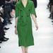 Háromnegyedes ujjú duplagombolásos kabátruha a Diortól.
