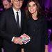 Nem hiányoztak a showról a szakemberek sem: Carine Roitfeld és a Paolo De Cesare a Procter & Gamble társalapítója.