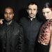 Riccardo Tisci, a valamiért a divatban nyomuló  Kayne West és leendő sógornője, Kendall Jenner.