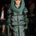 A hatvan éves Gaultier egy meglepő futurisztikus-retro kollekcióval rukkolt elő.