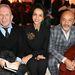 Jean Paul Gaultier, Farida Khelfa és Christian Louboutin a bemutató első sorában.