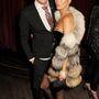 Kate Moss-t is gyakran kapják lencsevégre prémes cuccokban.