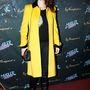 Audrey Marnay modell és színésznő a trendek előtt jár, már ki is próbálta a feltűnő sárga árnyalatot.