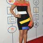 Jennifer Hudson plusz színként bedobott egy narancsszínű táskát is.