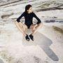 Káldy Júlia cipőreklámjában is szerepel Kondás, az egerszalóki hőforrásnál, sódombok között.