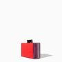 Másik kedvencünk a színes kistáska a Zara TRF osztályáról, 6995 forint.