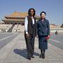 Michelle Obama egy hétig élvezte a kínai first lady, Peng Liyuan és az elnök, Xi Jingping vendégszeretét .