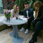 Tanácskozik a zsűri, azaz Nagy Szilvia, az H&M marketing menedzsere, Zsólyomi Norbert fotós és Szegedi Kata divattervező.