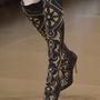 A Versace valószínűleg tudta, hogy egy ilyen csizmában nem tévedhet nagyot.