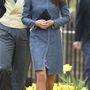 Katalin hercegné kalapot is vett fel hozzá - a királyi család tagjaként ez nem annyira meglepő húzás.