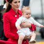 György herceg cukiságáról megint elvonta a figyelmet anyja villantása.