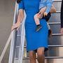 14. nap, április 20: Itt is előkerült a harmadik szett, egy Stella McCartney ruha, Katalinék ugyanis még továbbrepültek Sydneyből.