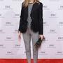 A fekete-fehér színkombináció Olivia Palermón is menő. Ő a Tibi-től választott egy szettet a Tribeca filmfesztivál 'For the Love of Cinema' vacsorájára.