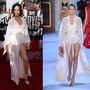 """Rihanna az MTV Movie Awards-ra egy Ulyana Sergeenko haute couture """"ruhát"""" vett fel a 2014-es tavaszi-nyári kollekcióból"""