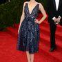 Marion Cotillard Christian Dior Couture-ben a Met-gála vörös szőnyegén.