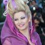 2012-ben kezdte Lenina a feltűnősködést: a Holdfény Királyság premierjére gonosz boszorkának öltözött.