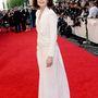 Laura Carmichael, a Downtown Abbey színésznője szintén talpig fehérben volt.
