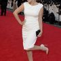 Sheridan Smith, 32 éves brit tévés sorozatszínésznő lila haja mellé már nem vett fel élénk színeket és jól tette.