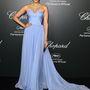 Sonam Kapoor Elie Saab Couture ruhában a  Chopard vacsorán.