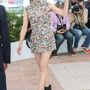 Marion Cotillard a Two Days, One Night sajtótájékoztatóján egy 2014-es tavaszi-nyári kollekciós Maison Martin Margiela Couture ruhában pózolt.