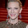 Cate Blanchett nem akart se fiatalabbnak, se idősebbnek tűnni, az ő sminkjének fókuszában a babarózsaszín száj, a bronzosító és a kissé kiemelt szem áll.