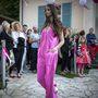 Cakó Kinga ugyanezt a pink ruhát viselte a megnyitón.