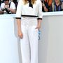 Chloë Moretz Cannes-ban kalappal.