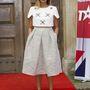 Alesha Dixon brit énekesnő szettje nagyon hasonlít Zsófiéra.