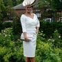 Ilda Di Vico tervezőasszony korának és az eseménynek megfelelően öltözött fel.