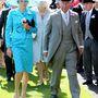 Károly herceg az ascoti derbi első napján egy ismeretlen, de csinos nővel.