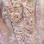 A ruhát a királynő Kathleen Wardnak, a Clarence House telefonos kisasszonyának ajándékozta.