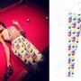 Azealia Banks a Fresh Tops Cray Cat névre hallgató 20 dolláros (5000 forintos) leggings-ében