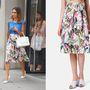 Jessica Alba 23 ezer forintos Topshop szoknyában rója az utcákat