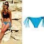 Bar Refaeli a H&M 3 ezer forintos bikinijében