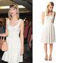 Taylor Swift a French Connection 90 dolláros (húszezer forintos) ruhájában