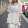 A fehér cuccok nemcsak a strandszezon tartozékai. Chiara Ferragni, divatblogger.