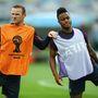 Wayne Rooney és Raheem Sterling, Anglia