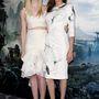 Ellery féle haspólóban és fodros szoknyában. Jolie és Fanning ezúttal összeöltözött.