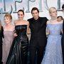 Angelina Jolie a szokásosnál eggyel feltűnőbb fekete estélyiben érkezett a hollywoodi bemutatóra.