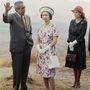 1975, Mexikó: ugyanilyen láncos mokaszint láthattunk a királynőn az idei fotókon is.