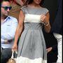 Pippa Middleton kicsit szürkén öltözött fel.