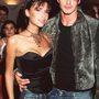 Lazán, farmerben mentek a Whitney Houston koncertre 1999-ben.