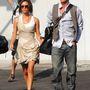 Kíváncsi turistának öltözve érkeztek meg a 63. Velencei Filmfesztiválra 2006-ban.