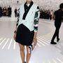 Olivia Palermo a Dior bemutatón is komoly maradt.