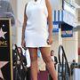 Jennifer Hudson pedig saját csillagának avatására
