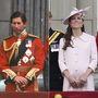 Kismamák és férjeik: 1982-ben Diana Vilmossal volt terhes, 2013-ban Katalin György herceggel.