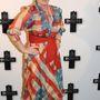 Meryl Streep 2009-ben, a Kétely című film párizsi premierjén viselte az amerikai zászlóra hajazó ruhát.